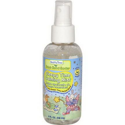 Healthy Times, Baby's Herbal Garden, Sleepy Time Calming Mist 118ml