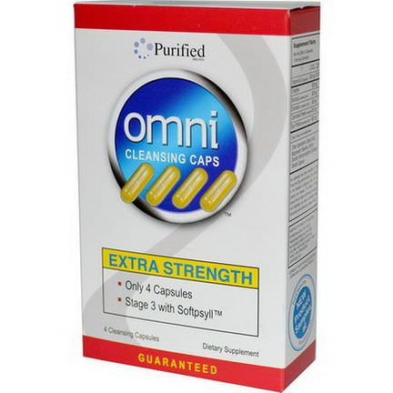 Heaven Sent Naturals, Omni Cleansing Caps, Extra Strength, 4 Cleansing Capsules