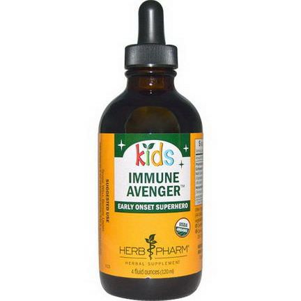Herb Pharm, Kids, Immune Avenger 120ml