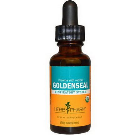 Herb Pharm, Rhizome With Rootlet Goldenseal 30ml