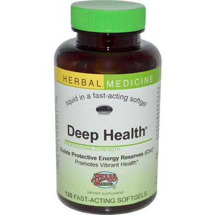 Herbs Etc. Deep Health, Alcohol Free, 120 Fast-Acting Softgels