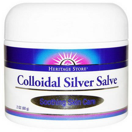 Heritage Products, Colloidal Silver Salve 60g