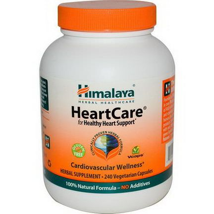 Himalaya Herbal Healthcare, HeartCare, 240 Veggie Caps