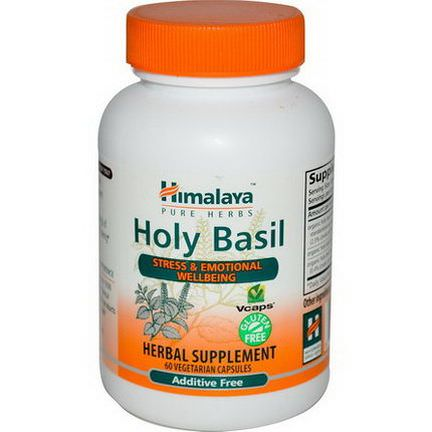 Himalaya Herbal Healthcare, Holy Basil, 60 Veggie Caps