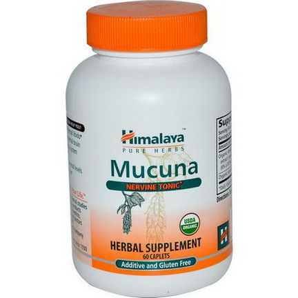 Himalaya Herbal Healthcare, Mucuna, Nervine Tonic, 60 Caplets