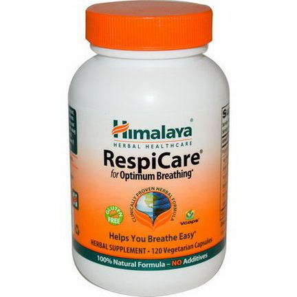 Himalaya Herbal Healthcare, RespiCare, 120 Veggie Caps