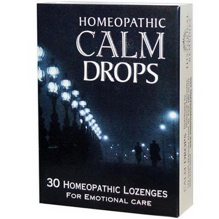 Historical Remedies, Homeopathic Calm Drops, 30 Homeopathic Lozenges
