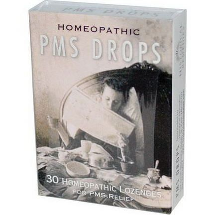 Historical Remedies, PMS Drops, 30 Homeopathic Lozenges