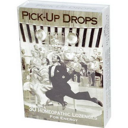 Historical Remedies, Pick-Up Drops, for Energy, 30 Homeopathic Lozenges