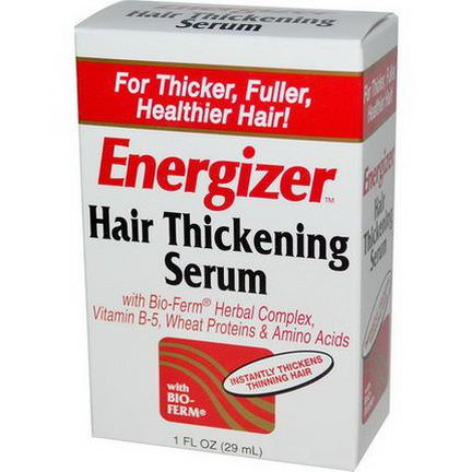 Hobe Labs, Energizer, Hair Thickening Serum 29ml