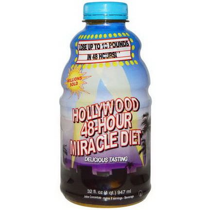 Hollywood Diet, Hollywood 48-Hour Miracle Diet 947ml