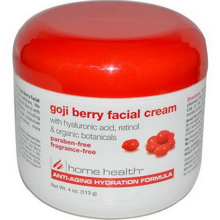 Home Health, Goji Berry Facial Cream 113g