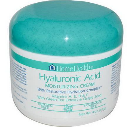 Home Health, Hyaluronic Acid, Moisturizing Cream with Restorative Hydration Complex 113g