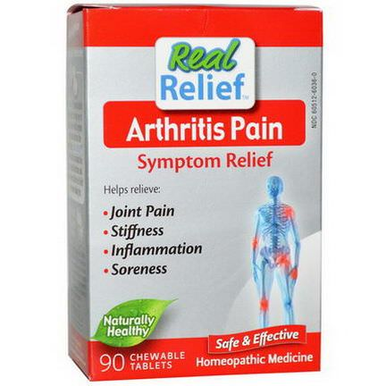 Homeolab USA, Arthritis Pain Symptom Relief, 90 Chewable Tablets