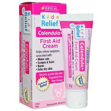 Homeolab USA, Kids Relief, First Aid Cream, Calendula 50g