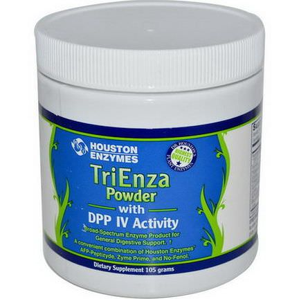 Houston Enzymes, TriEnza Powder with DPP IV Activity, 105g