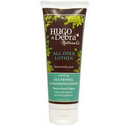 Hugo Naturals, All Over Lotion, Sea Fennel&Passionflower 237ml