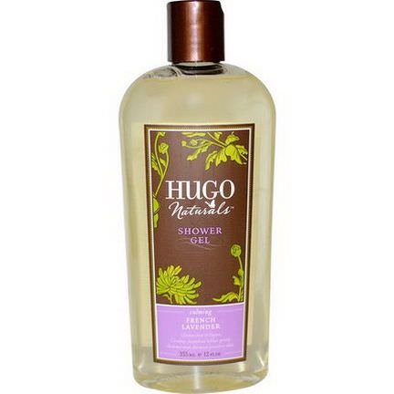 Hugo Naturals, Shower Gel, French Lavender 355ml
