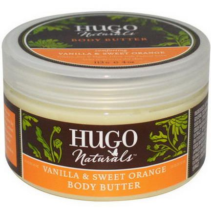 Hugo&Debra Naturals, Vanilla&Sweet Orange Body Butter 113g