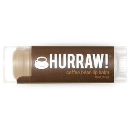 Hurraw! Balm, Lip Balm, Coffee Bean 4.3g