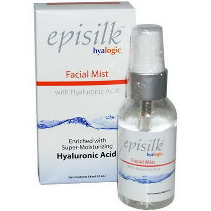 Hyalogic LLC, Episilk, Facial Mist with Hyaluronic Acid 58ml