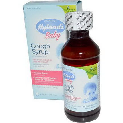Hyland's, Baby, Cough Syrup 118ml