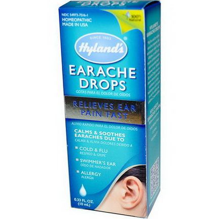 Hyland's, Earache Drops 10ml
