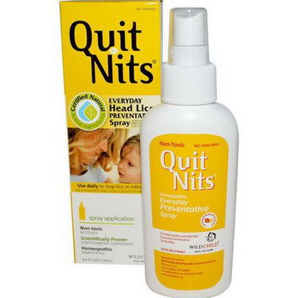 Hyland's, Quit Nits, Everyday Head Lice Preventative Spray 118ml