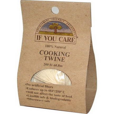 If You Care, 100% Natural, Cooking Twine 60.8m
