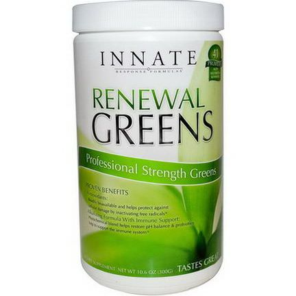 Innate Response Formulas, Renewal Greens, Professional Strength Greens 300g