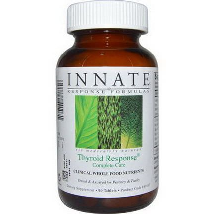 Innate Response Formulas, Thyroid Response Complete Case, 90 Tablets