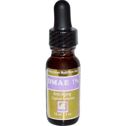 Intensive Nutrition, DMAE 1%, Anti-Aging Topical Solution 14ml