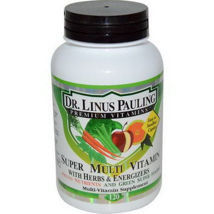 Irwin Naturals, Dr. Linus Pauling, Super Multi Vitamin, with Herbs&Energizers, 120 Caplets