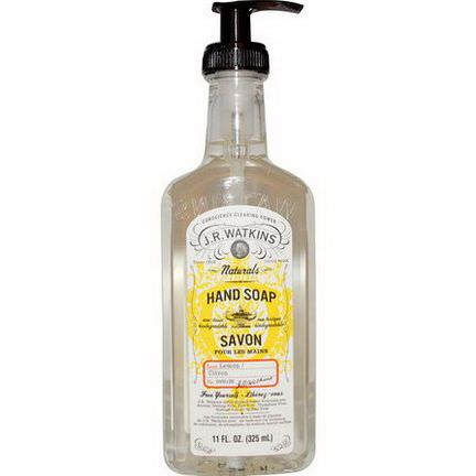 J R Watkins, Natural Hand Soap, Lemon 325ml