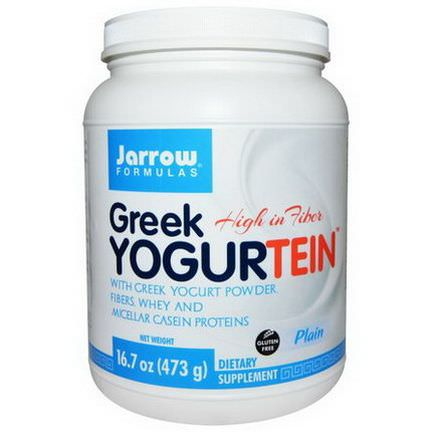 Jarrow Formulas, Greek Yogurtein, Plain 473g