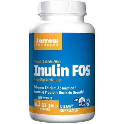 Jarrow Formulas, Inulin FOS 180g Powder