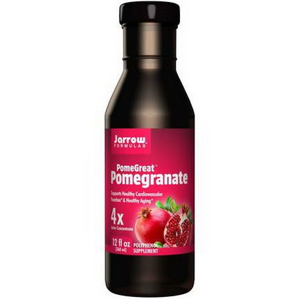 Jarrow Formulas, PomeGreat, Pomegranate 360ml