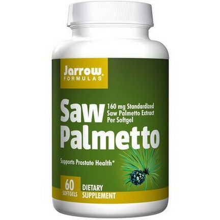 Jarrow Formulas, Saw Palmetto, 160mg, 60 Softgels