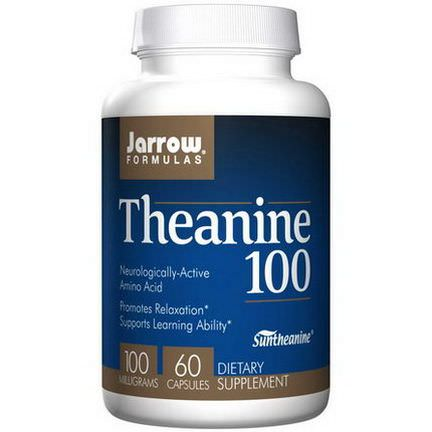 Jarrow Formulas, Theanine 100, 100mg, 60 Capsules