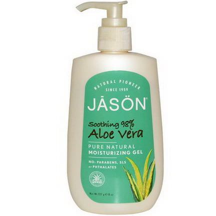 Jason Natural, Aloe Vera Moisturizing Gel 227g