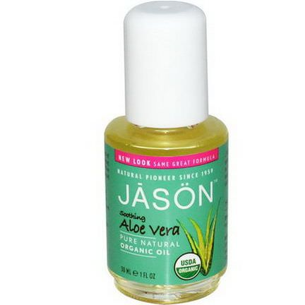 Jason Natural, Aloe Vera, Organic Oil 30ml