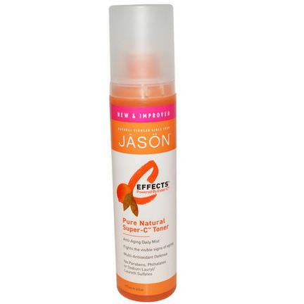 Jason Natural, C-Effects, Pure Natural Super-C Toner 177ml