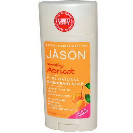 Jason Natural, Deodorant Stick, Nourishing Apricot 71g