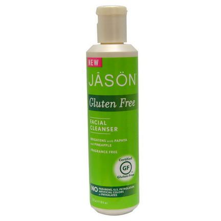 Jason Natural, Gluten Free, Facial Cleanser, Fragrance Free 237ml