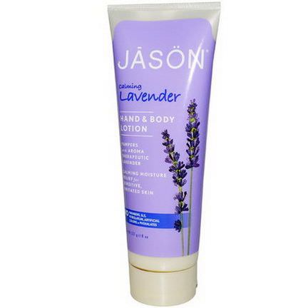 Jason Natural, Hand&Body Lotion, Calming Lavender 227g
