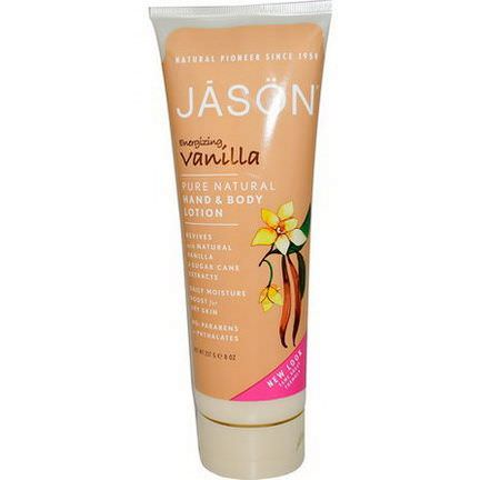 Jason Natural, Hand&Body Lotion, Energizing Vanilla 227g