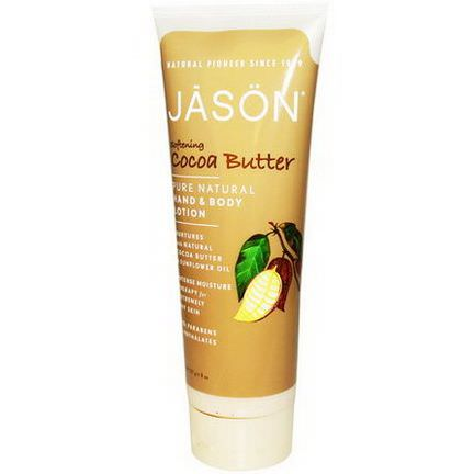 Jason Natural, Hand&Body Lotion, Softening Cocoa Butter 227g