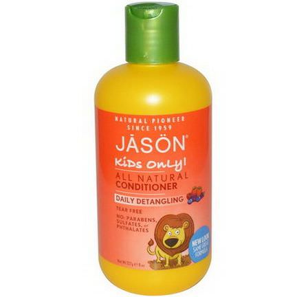 Jason Natural, Kids Only! Daily Detangling Conditioner 227g