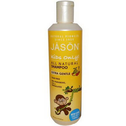 Jason Natural, Kids Only, Shampoo, Extra Gentle 517ml