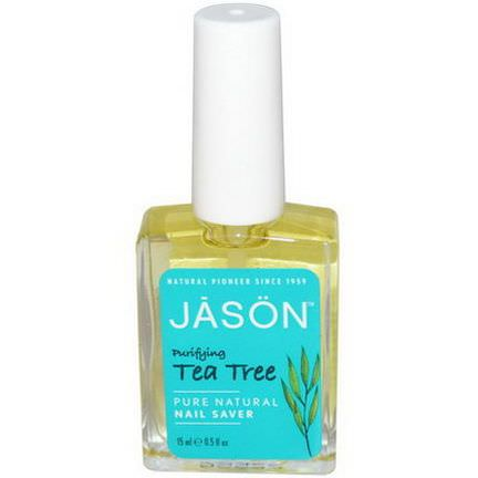 Jason Natural, Nail Saver, Tea Tree 15ml